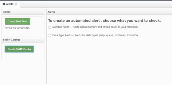 Creating Alerts - Hazelcast Management Center Manual